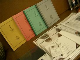 「Liscio-1」で作った紙製品の一部