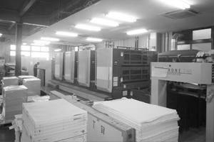 ワークフローの活用で印刷機を効率的に回す